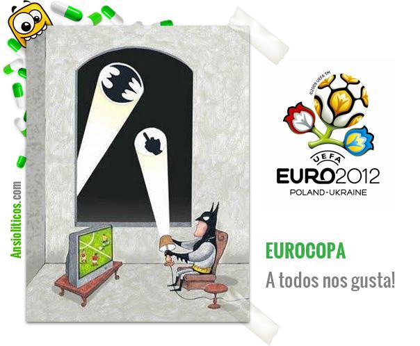 Chiste Eurocopa: Batman y el Futbol