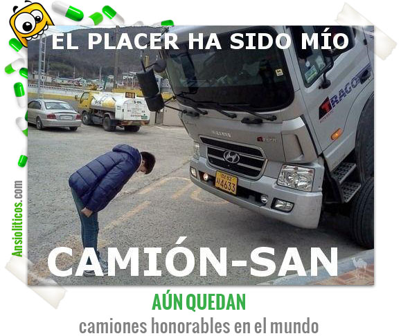 Chiste de Camión Honorable