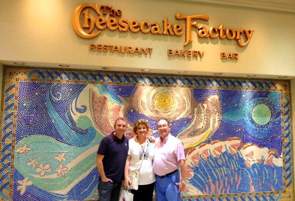 Restaurante The Cheesecake Factory