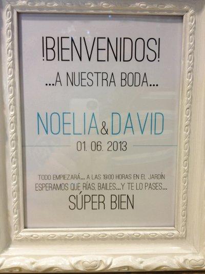 Boda de David y Noelia