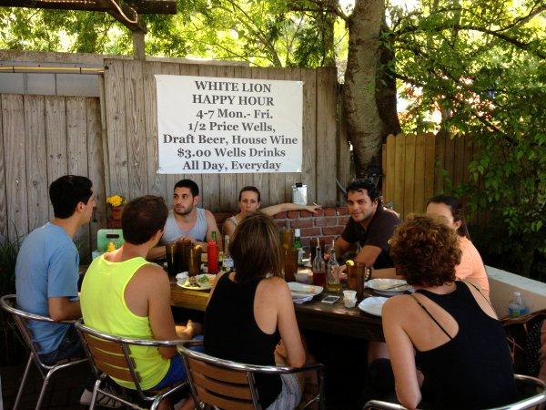 Restaurante White Lion Saint Augustine