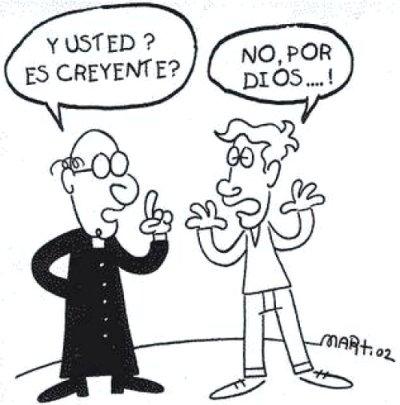 Chiste de Ateos