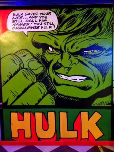 Hamburguesería Comic Planet