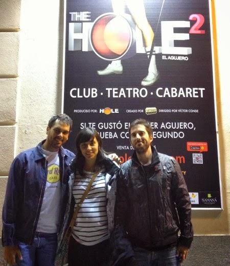 Espectáculo: The Hole 2