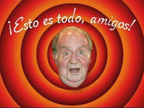 Chiste Abdicación Rey Juan Carlos Esto es todo amigos
