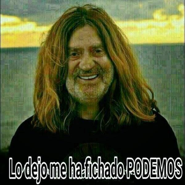 Chiste Abdicación Rey Juan Carlos Podemos