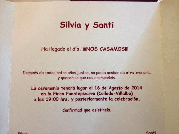 Santi y Silvia