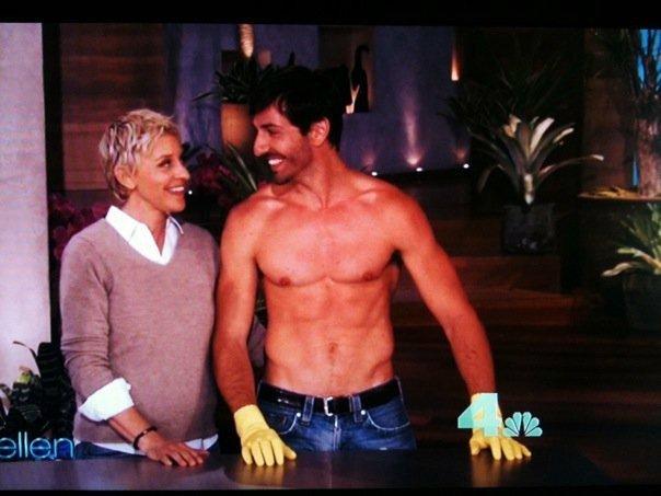 Francesco en el Show de Ellen DeGeneres
