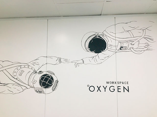 Oxygen workspace Coworking en Madrid