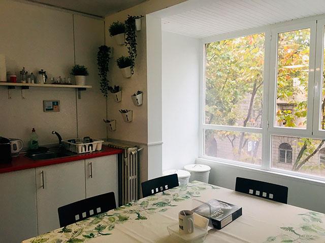 Cocina en Oxygen workspace Coworking en Madrid