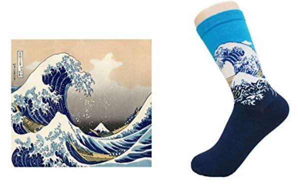 """""""La gran ola de Kanagawa"""" de Hokusai"""