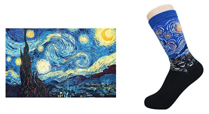 """""""La noche estrellada"""" de Van Gogh"""