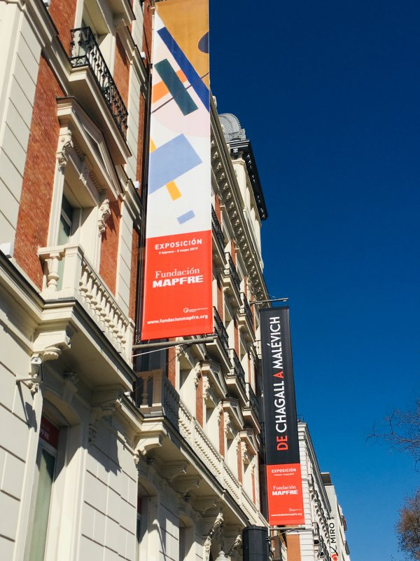 Exposición: De Chagall a Malévich: el arte en revolución