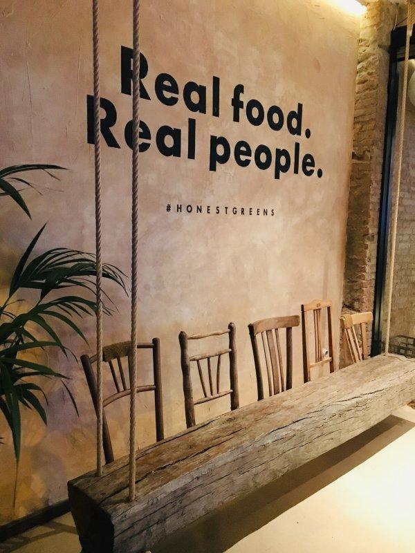 Restaurante Honest Greens