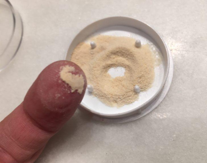 Crema en polvo