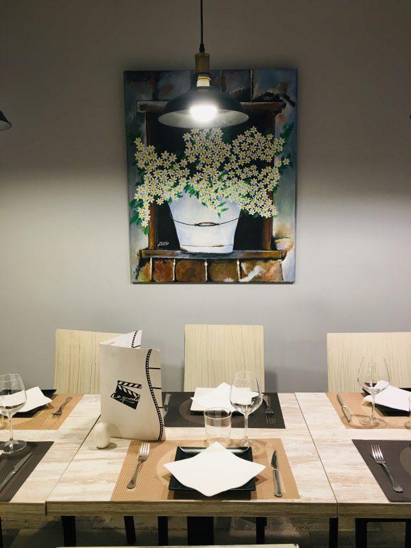 Interior del Restaurante La Quedá