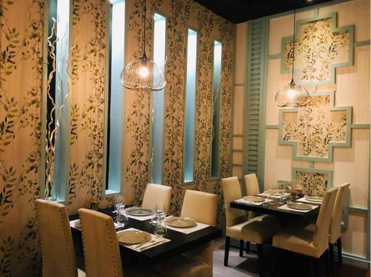 Salón comedor del Restaurante WEI Asian Lounge