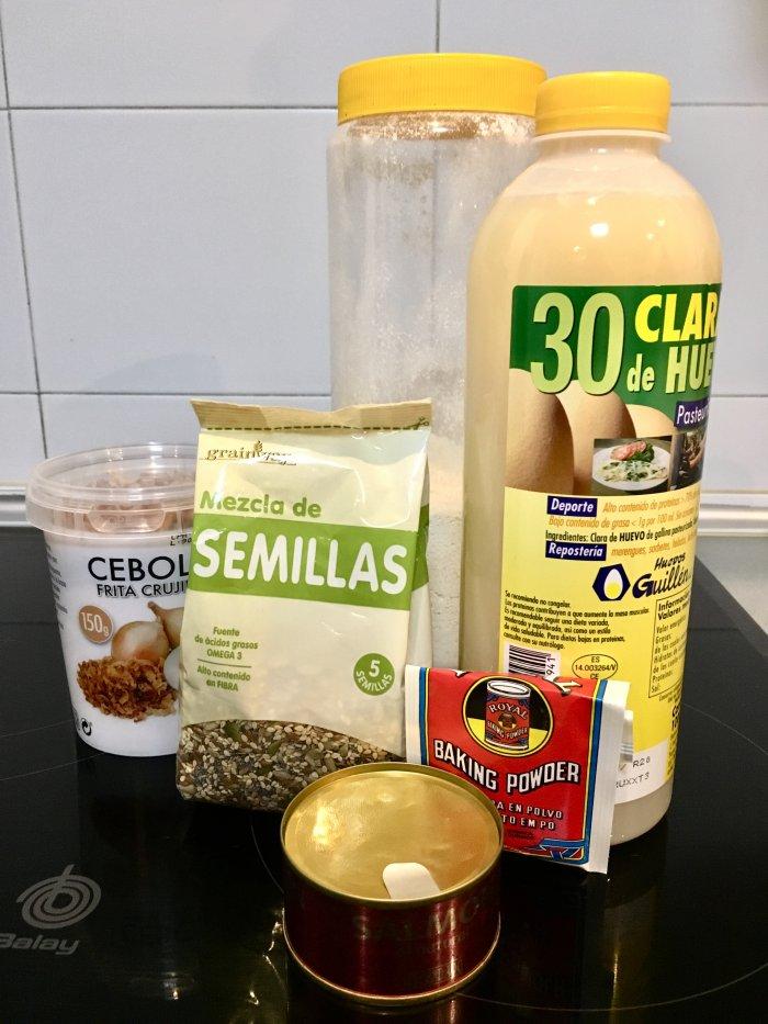Ingredientes de las tortitas de Avena