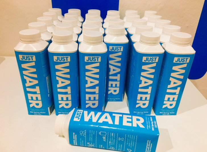 Envases de agua del futuro