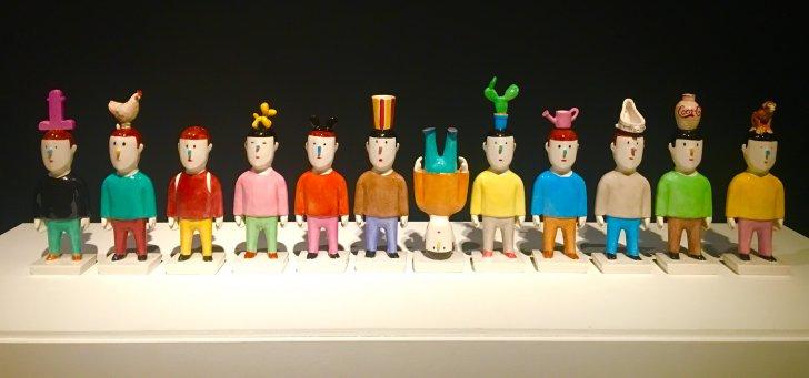 Muñecos de cerámica