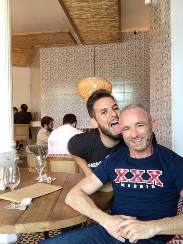 Luis y David en Cervecería La Bientirada