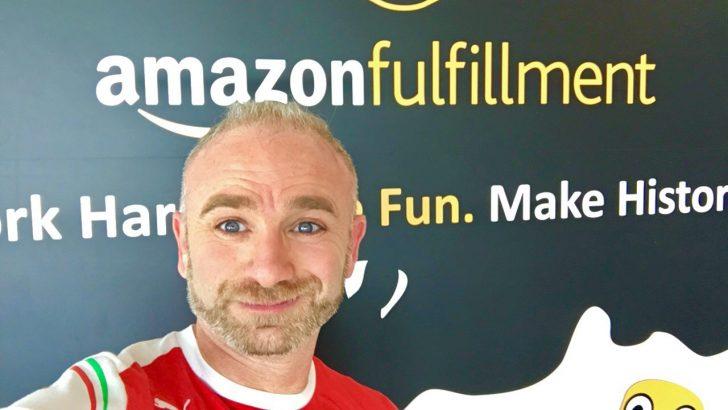 Inicio de la visita a Amazon
